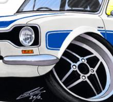 Ford Escort (Mk1) RS2000 White Sticker