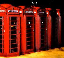 Phone Boxes by mattlovell