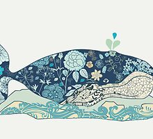 a blue whale by whatmilk