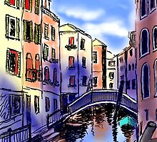 A Day In Venice by AndreaFettweis