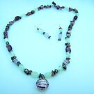 Semi-Precious Gemstone Necklace - set by anaisnais