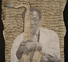 clarence clemons by Jaime Schultz