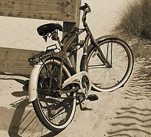 Beach Bike - Sepia by Paulette1021