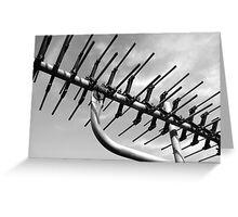 tv antenna Greeting Card