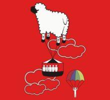 Jump the Sheep Ship. by Pip Gerard