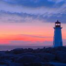 Peggy&#x27;s Cove Light by Stephen Beattie