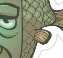FishOrMan Sticker