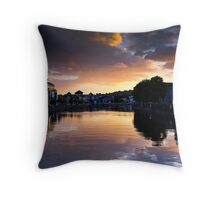 UpRiver Throw Pillow