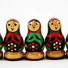 Nostalgic Toys Series - Babushkas by KirstyStewart