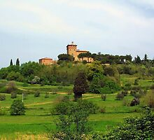 Tuscan Countryside by Ellen Henneke