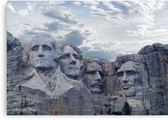 Four Presidents by rocamiadesign