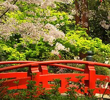 Red Bridge Springtime by James Eddy