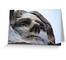 Jefferson on Rushmore Greeting Card
