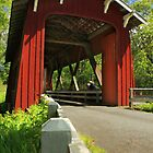 Brookwood Covered Bridge by James Eddy