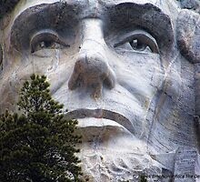 Lincoln on Rushmore by rocamiadesign