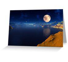 Cauldra Lake Greeting Card