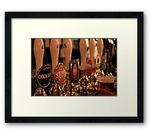 Having a quiet one... Framed Print