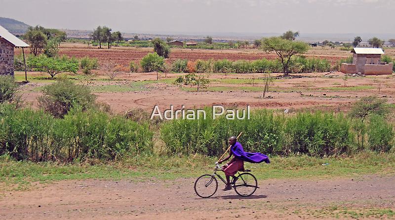 The Tanzanian Superman by Adrian Paul