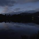 Night, Lake Rosebery by CezB