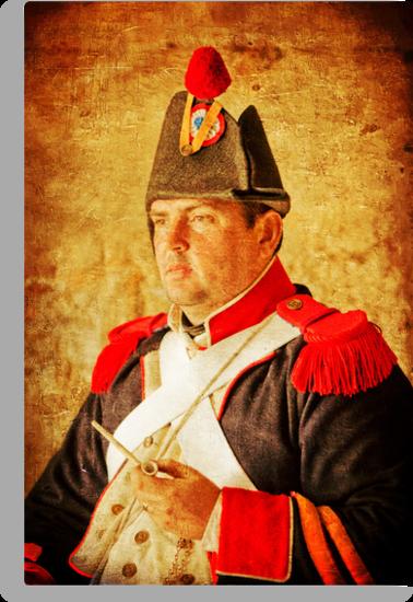 Military Portrait by David de Groot