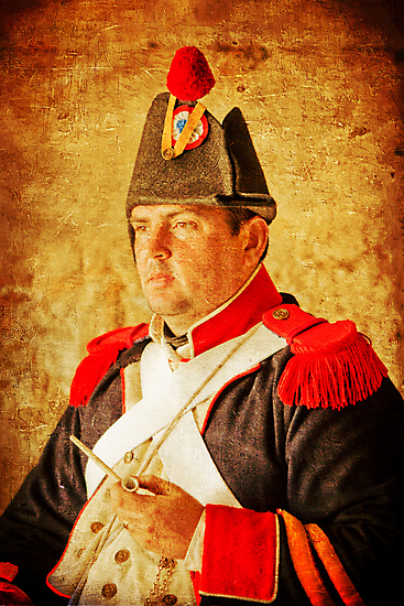 Military Portrait by David de Groot