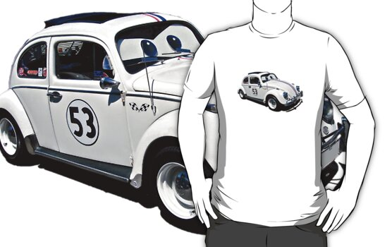 Herbie the Volkswagen (Replica) by Ferenghi