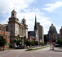Streets of Harrisburg Pennsylvania by vigor