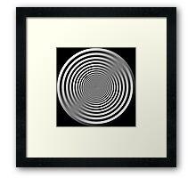 Abstract circles Framed Print