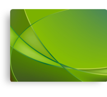 Abstract green background Canvas Print