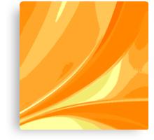 Abstract orange background Canvas Print