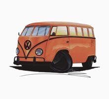 VW Splitty (15 Window) Camper (B) by Richard Yeomans