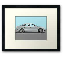 Automobile vector Framed Print