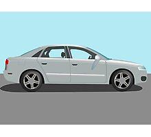 Automobile vector Photographic Print