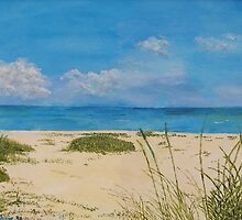 Lido Beach Sarasota by Ivan P. (John) Dobranic
