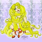 Rapunzel Let Down your Golden Hair by Patricia Anne McCarty-Tamayo