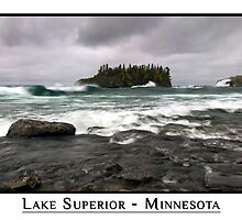 Lake Superior - Minnesota by CardsCards