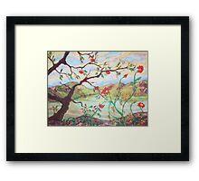 Tree of Friendship Framed Print