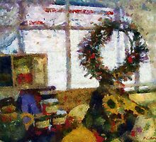 Christmastime Folk Art Fantasia by RC deWinter