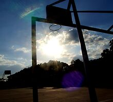 The Basketball Court by marcelarodas