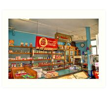 Gilbertsons Country Store-2 Art Print