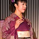 Kimono Exhibition, Kyoto, Japan by johnrf