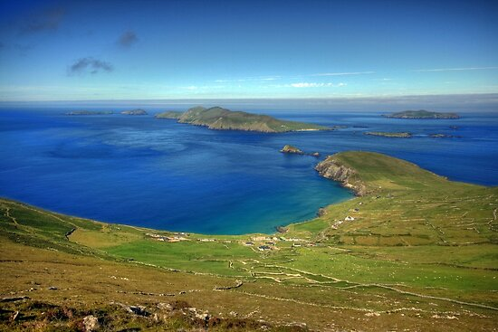 Slea Head on the Dingle peninsula, county Kerry