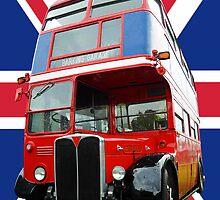 London Bus by Steve Woods