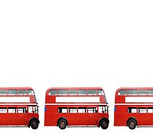 Three Buses by Steve Woods