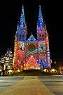 Vivid Sydney 2010 | St. Mary's Cathedral 2 by DavidIori