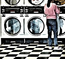 laundromat circles and squares by nadine henley