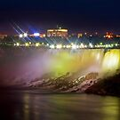 American Falls By Night by James  Birkbeck