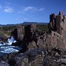 Rock Formations, Bombo Coastline, Australia by muz2142