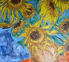 Sunflower I. by Gica