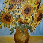 Sunflowers II. by Gica